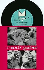Trench Gashes ORIG PS 45 Age shall weary me NM 1985 With insert Post Punk