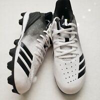 Youth Boys Size 4.5 Black White Adidas Icon 4 MD K Baseball Shoe Cleats G26698
