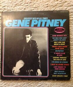 GENE PITNEY GREATEST HITS  LP RECORD.
