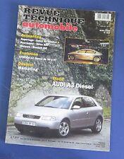 Revue technique  RTA 616 Audi A3 diesel