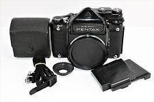 Mirror Up Pentax 6x7  TTL Medium Format Film  Camera Body w/caps case from japan