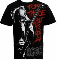 Ac/Dc For Those About To Rock We Salute You Music T Tee Shirt S M L Xl 2Xl