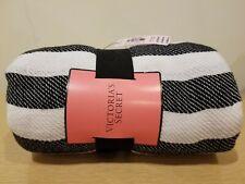 "Victoria's Secret Beach Towel Blanket Colorful Stripes, 50"" X  60"", New"