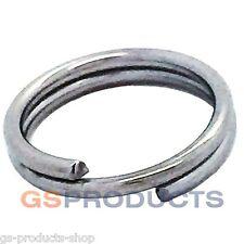 16mm Stainless Steel Split Clevis Key Ring FREE Postage & Packaging!