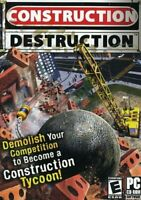 Construction Destruction Empire Tycoon SIM GAME for PC CASE LOT OF 12 GAMES