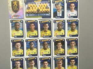 panini foot 2005 equipe SOCHAUX COMPLETE