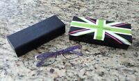 William Morris london frames fashion Womens glasses purple 4500 52×16 135 C3