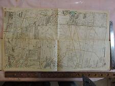 Origonal 1931 Hyde 18x31 Map Long Island LIRR Islip Oakdale Holbrook Suffolk Co.