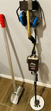 Tesoro Tiger Shark with 8 inch coil Excellent condition with Sifting tool.