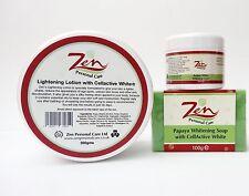 Paquete de blanqueamiento de la piel Cellactive Blanco Loción Corporal, Crema para la cara, jabón de ahorrar 11.50