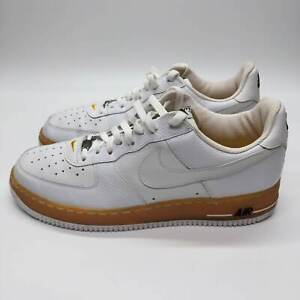 Nike Air Force 1 Low JD Sports White Gum Midsole White Size 11 306353-902 2005