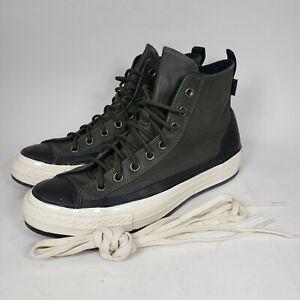 Converse Haven Chuck 70 Hi Size 8 Mens(Womens 10) Forest Night Egret Black Shoes