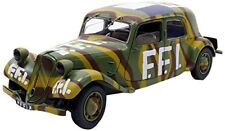 1 18 Solido Citroen Traction 11cv FFI 1944 Camouflage