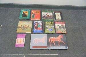 JOB LOT COLLECTION OF HORSE RACING HARDBACK BOOKS