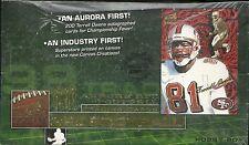 1999 Pacific Aurora Factory Sealed Football HOBBY BOX  Donovan McNabb RC?