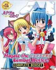 DVD Hayate The Combat Butler! Complete Boxset 旋风管家完整版 (Season 1-4 + The Movie)