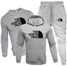 3PCS Mens Hoodie Sweatshirts Trousers Bottoms Sports Suit Jogging Tracksuit Sets