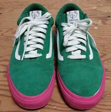 VANS X Golf Wang Syndicate Old Skool Green Pink Size 11 supreme odd future