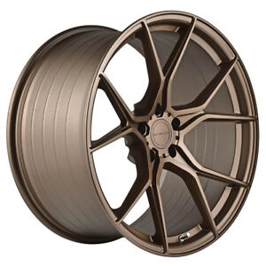 """19"""" STANCE SF07 FORGED BRONZE CONCAVE WHEELS RIMS FITS HONDA ACCORD"""