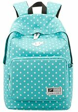 US Blue Casual Daypack Backpack for College Bookbag  Women Girls School Bags