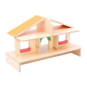 Children's Dollshouse Wooden 2 Storey Dollshouse Top
