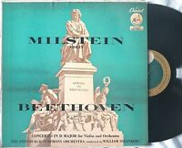 Capitol P8313 Beethoven CONCERTO IN D MAJOR Nathan Milstein D12 / D15 stampers