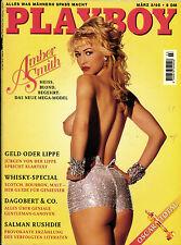 PLAYBOY D 3/1995 März - Amber Smith + Cornelia Corba + Dagobert & Co.