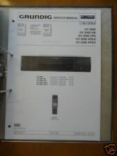 Service-Manual für Grundig GV 5000/GV 5300,ORIGINAL !
