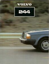 Volvo 244 Saloon 1980-81 UK Market Sales Brochure DL GL GLE GLT 240-Series