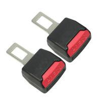 Seat Seatbelt Safety Belt Clip Extender Extension Buckle Stopper Universal 2X
