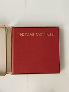 thomas mcknight Art Book Excellent Condition!