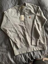 Maison Kitsune Sweatshirt Jumper Grey Brand New Size M