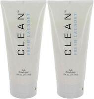 2x Sephora CLEAN Fresh Laundry Soft Body Lotion Sealed Full Size 6oz DLISH