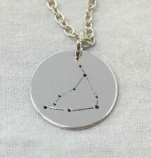 *UK Shop* Silver 'CAPRICORN' Necklace Star Birth Zodiacs Zodiac Signs 22/12-19/1