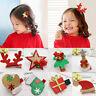 Korean Hair Pin Hairband Christmas Pentagram Antlers Hairclip Headwear Girl Gift