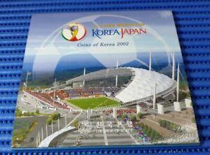 2002 FIFA World Cup Korea/Japan Commemorative Folder with Coins of Korea 2002
