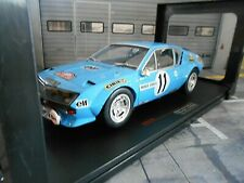 RENAULT Alpine A310 Rallye Monte Carlo 1975 #11 Warmbold Davenport IXO 1:18