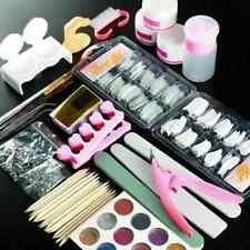 Acrylic Nail Kit-Acrylic Powder, Glitter, False Nails, Nail Art Tools-23 pcs
