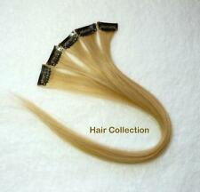 "18"" #27 Strawberry Blonde Human Hair Clip In  Extensions for Highlights(5pcs)"