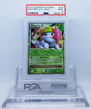 Pokemon PLATINUM SHAYMIN LV X #126 GROUND FORME HOLO FOIL CARD PSA 9 MINT #*