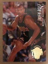 1994-95 Ultra #234 Jalen Rose Rookie RC Basketball Card Denver Nuggets