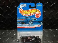 Hot Wheels #655 Black Super Comp Dragster  w/5 Spoke Wheels  3 Tampo Version