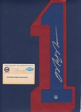 Mark Messier signed New York Rangers jersey number Steiner Authenticated