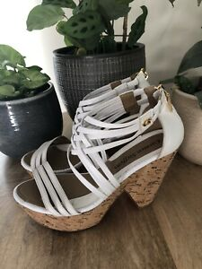Carmen Steffens Wedge Platform Shoes - BRA 36 / EU 38 (Size 7.5)