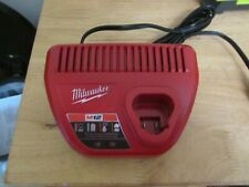 Milwaukee M12 Battery Charger , Model # 48-59-2401