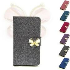 Glitter Butterfly Phone Case Protective Sleeve Case Flip Cover Case M212