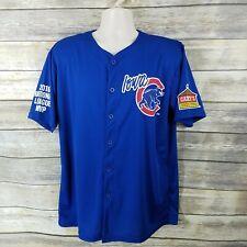 Iowa Cubs Size XL Bryant #17 Fan Jersey
