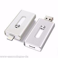 8GB i-USB-Storer Silber 3in1 OTG USB Flash Drive für iPhone und iPad