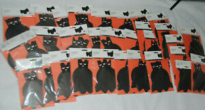 Job Lot Wholesale 186  Halloween Party Invites Invitations Fold Out Bat Wing