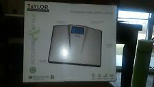 Taylor stainless steel digital Br scale; extra wide